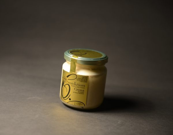 Crema de queso al Pedro Ximénez